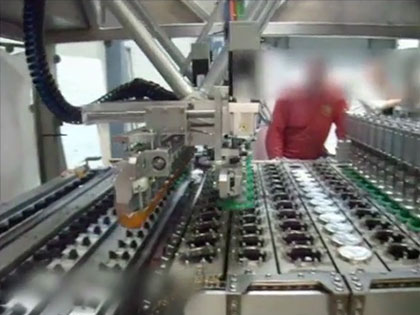 Video of machine for lidding